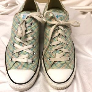 Converse All Star Unisex Plaid Sneakers